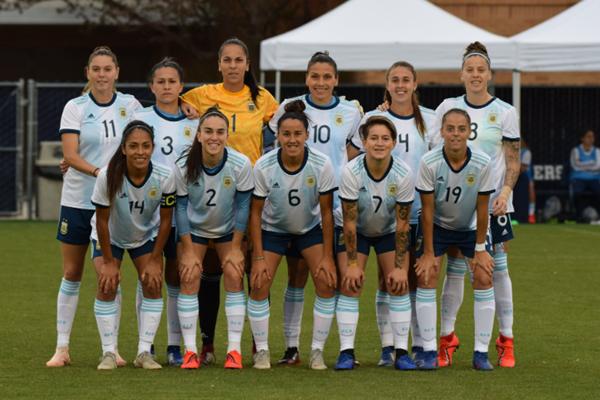 Resultado de imagen para SELECCIONADO FEMENINO DE FUTBOL ARGENTINO 2021