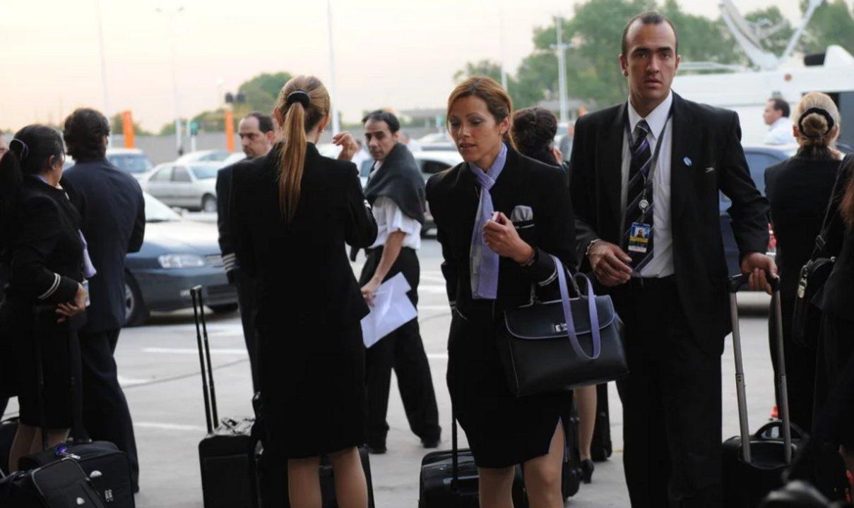 Resultado de imagen para azafatas Aerolineas Argentinas