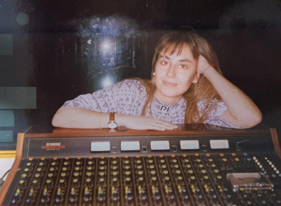 Verónica Fernández Vila y la consola de 1993