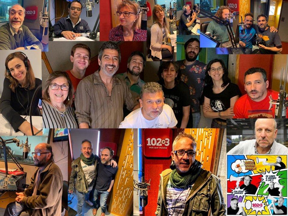 Collage del programa Mirá quién habla!
