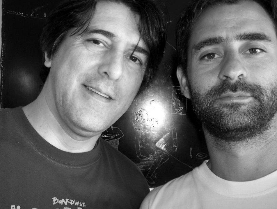 Carlos y Gastón Varela, autores del documental