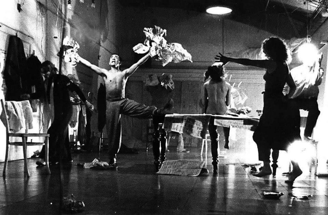 1987. Segunda obra en La Cochera. Grupo Los Delincuentes