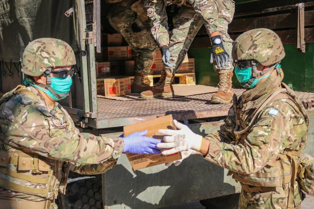 Si bien el Ejército tiene experiencia en distintos operativos, el de esta vacunación será histórico