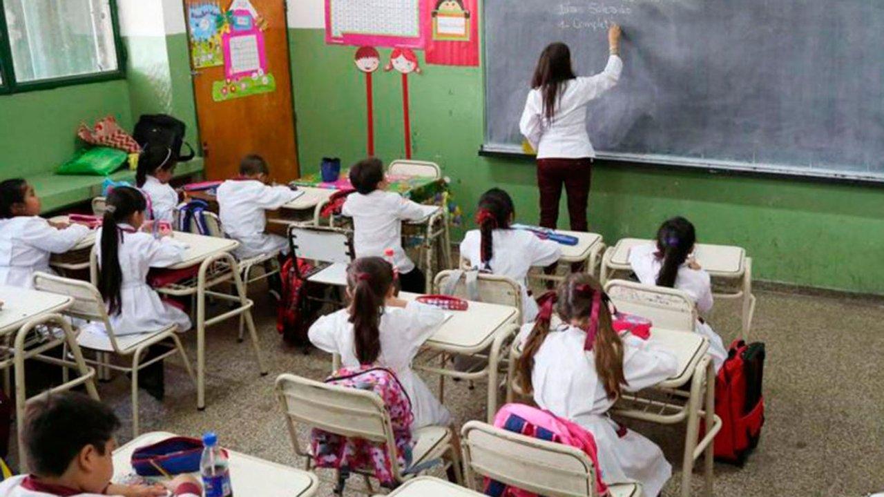 Esperando la ansiada presencialidad en las aulas. Foto: Infobae