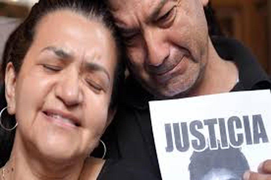 Graciela Báez y Silvino Sosa, padres de Fernando