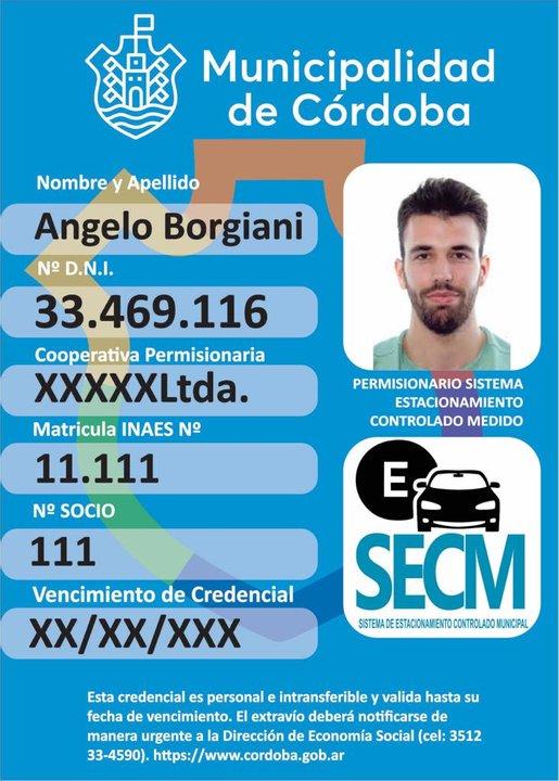 La identificación que llevarán (Fuente: Municipalidad)